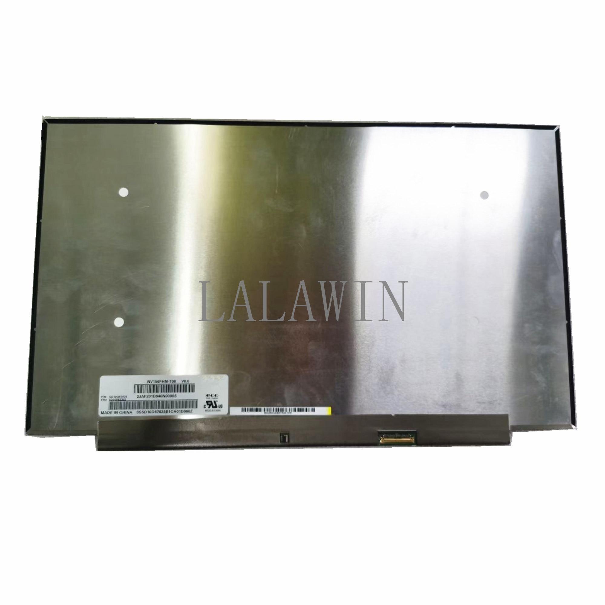 NV156FHM-T08 V8.0 15.6 ''كمبيوتر محمول LCD تعمل باللمس عرض لوحة 1920*1080 IPS