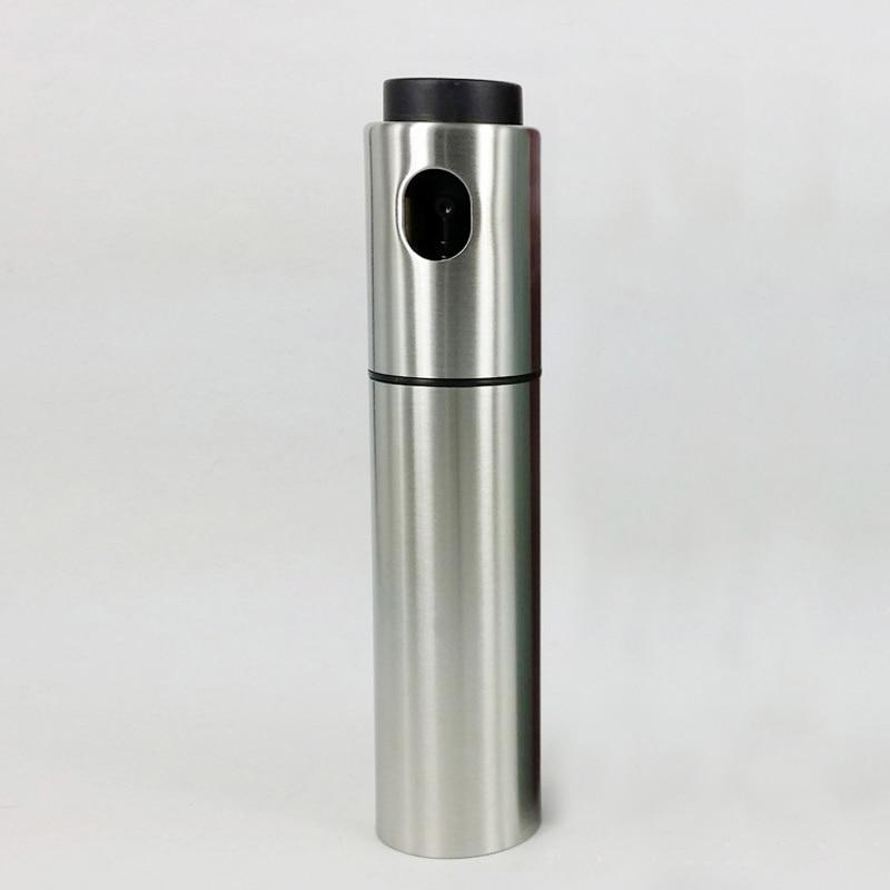 La Barbacoa de oliva de la bomba de aerosol de niebla fina de pulverizador para aceite de oliva de acero inoxidable botella de Spray botella de bote rociador de aceite de cocina dispensador de herramientas de cocina