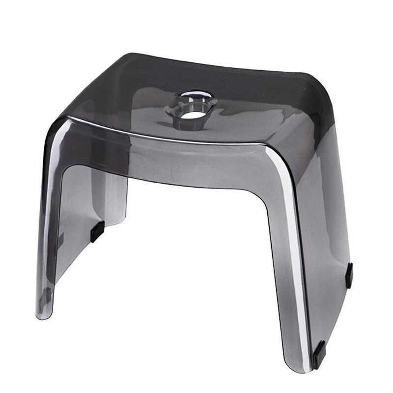 PCTG-كرسي حمام سميك ، غير قابل للانزلاق ، مدخل منخفض ، للأطفال والكبار ، حمام مربع