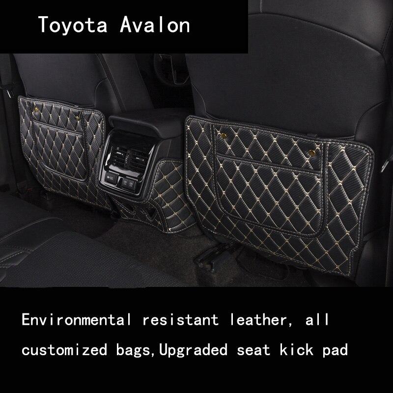 Alfombrilla antipolvo Valon para Toyota Camry 2019 accesorios Interior asiento trasero estera a prueba de golpes para niños estera de coche Anti-suciedad