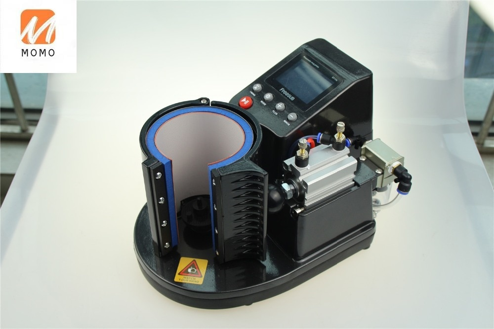 New for ST-110 Suitable for Pneumatic Cup Pressing Machine Thermal Cup Hot Press Digital Cup Printer enlarge