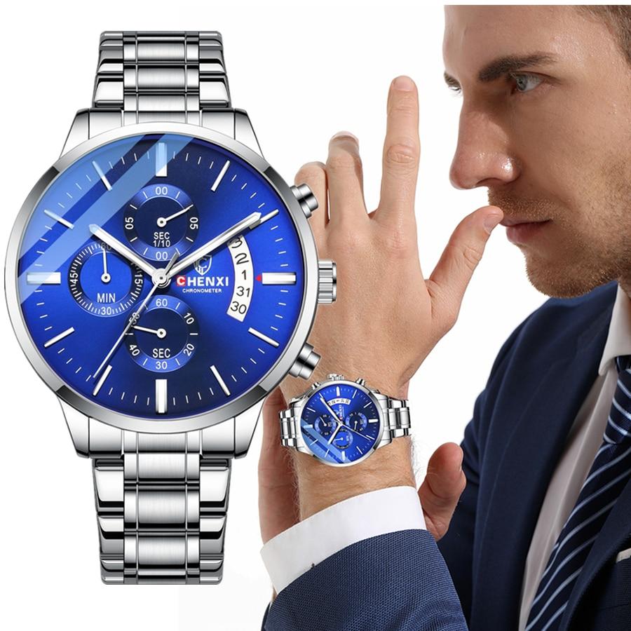 2021 New Luxury Men Quartz Watches Clock Automatic Date Men's Mechanical Watch Wristwatches Masculino Reloj Hombre reloj