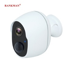 RANKMAN WiFi IP Camera Low-power Rechargeable Battery Wireless Security Surveillance Waterproof Outd