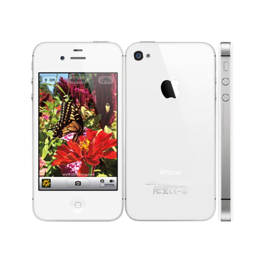 "Factory Unlocked Original Apple iphone 4 4S 8GB 16GB 32GB Mobile phone Dual core Wi-Fi GPS 3.5""Cell phone Touch Screen iOS USED"