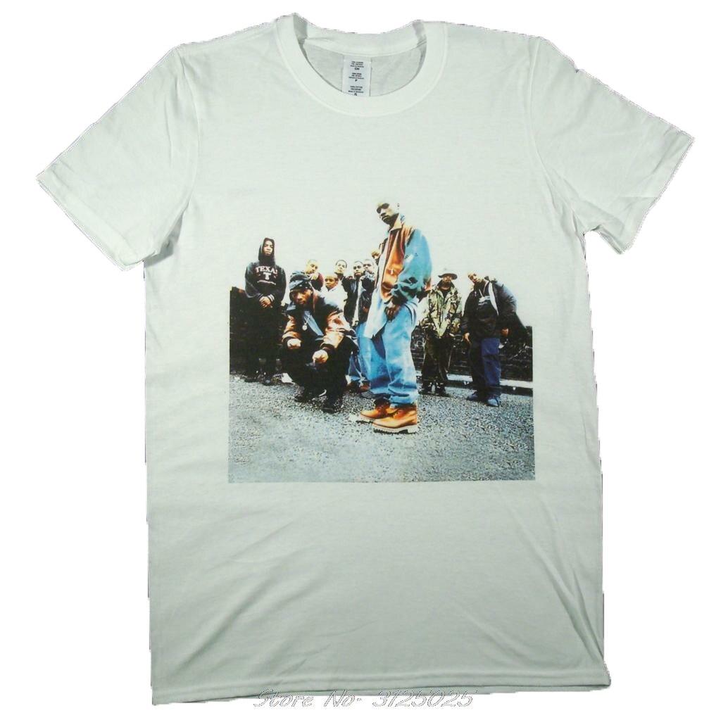Moda mobb profundo branco camiseta s-xxxl infame hip hop rap odb balançou homens algodão t streetwear
