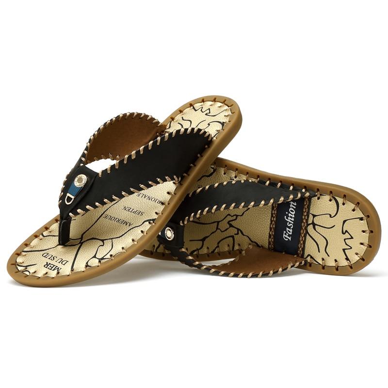 Zapatillas de casa para hombre, zapatillas de playa, zapatillas de diseño, zapatillas deportivas de goma para interiores, verano 45