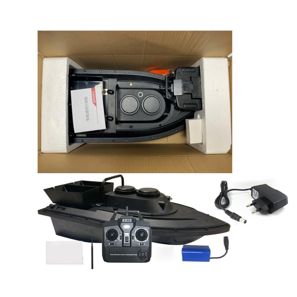 D11 Smart RC Bait Boat Toys Wireless Dual Motor 500m Fish Finder  Remote Control Fishing Boats Speedboat Fishing Tool
