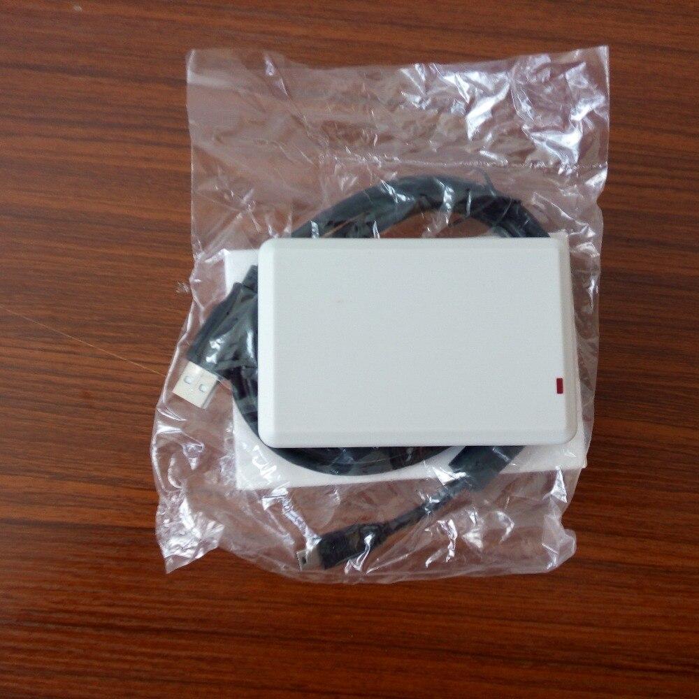usb desktop keyboard emulation rfid uhf reader support ISO18000-6B/6C protocol free sample card enlarge