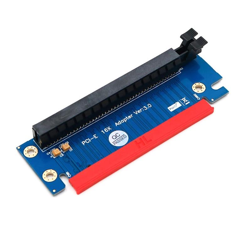 QINDIAN PCI Express 16x Riser Card PCIE Riser Graphics Card PCI E PCI-E Riser Adapter PCI-E 16X to 16X Raiser Card FOR 1U 2U NEW