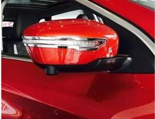 Para Nissan Qashqai Rogue Sport Murand 2014 2015 2016 2017 2018 espejo lateral ala trasera cubierta cromada bisel moldeado Car St
