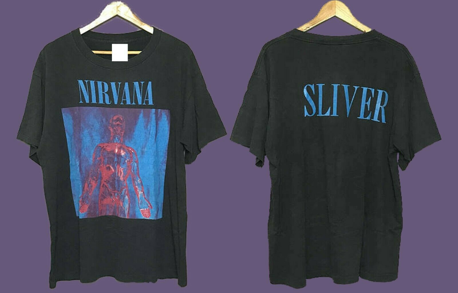 Vintage 90S Nirvana plata raro Camiseta talla S 2Xl reimpresión