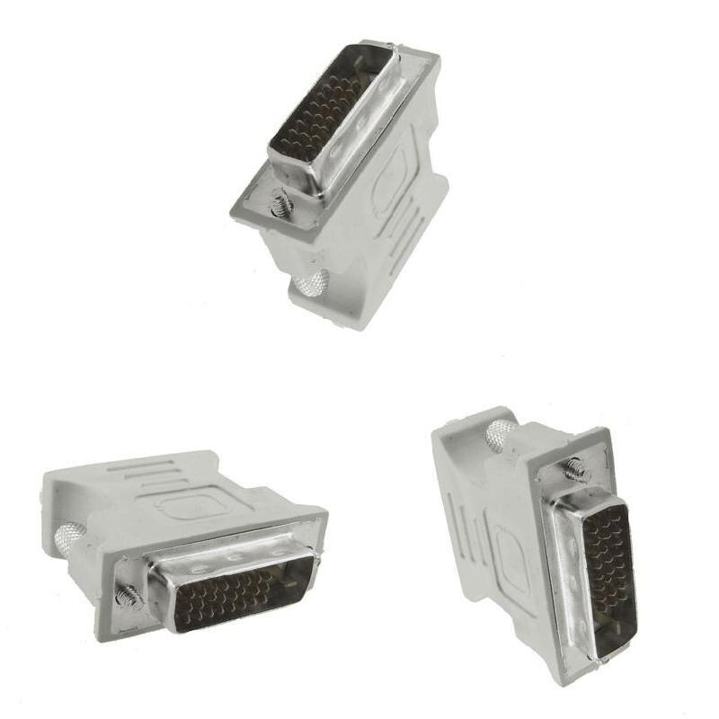 DVI-D convertidor adaptador hembra VGA macho a VGA conector para LCD HDTV FKU66