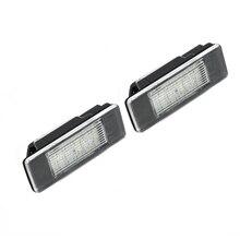 Lumière de plaque dimmatriculation automatique pour Mercedes Sprinter W906/Vito W639 6000K DC 12V voiture de remplacement