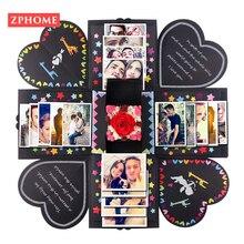Coffret Love Explosion bricolage créatif multi-niveaux   Cadeau de Surprise, Album Photo joyeux mémoire, boîte à cadeau danniversaire, anniversaire, saint-valentin