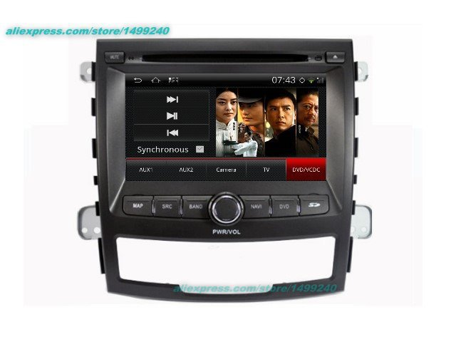 Para SsangYong Korando 2010 ~ 2013-coche Android navegación GPS Radio TV DVD reproductor de Video de Audio Multimedia estéreo sistema
