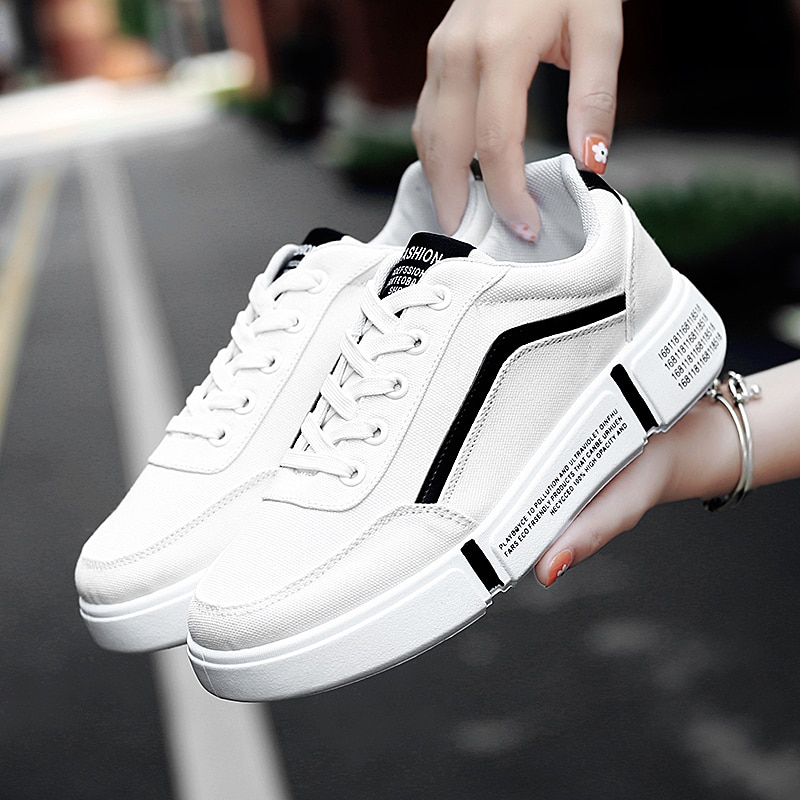 Frauen Casual Schuhe Licht Korb Femme Turnschuhe Atmungs Tenis Luxus Schuhe Frau Designer Weiß Wohnungen Schuhe 35-44 Unisex 2020