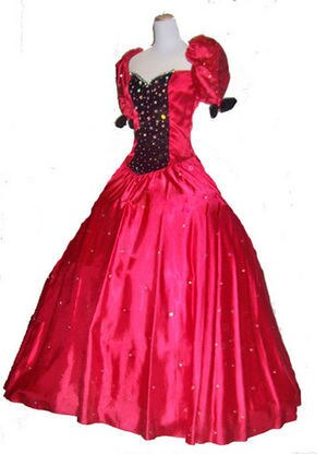 Cristal rojo de talla grande GWTW SCARLETT georgiano satén terciopelo personalizado guerra civil vestidos de bola cap sleeve prom mother of the bride dress