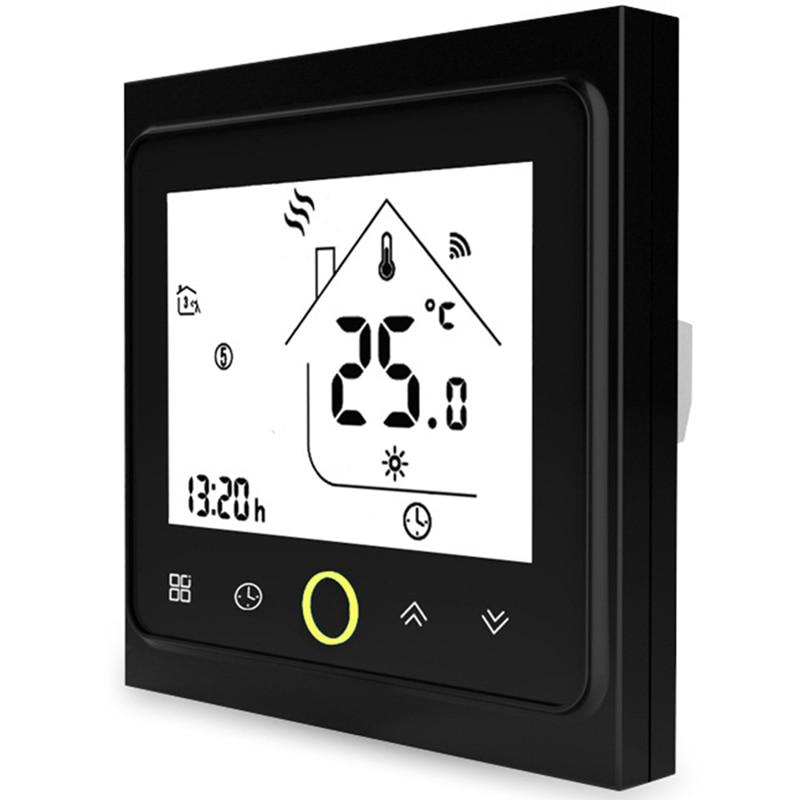 الذكية واي فاي أداة تحكم في درجة الحرارة بالترموستات المياه الكهربائية الدافئة الطابق التدفئة المياه الغاز المرجل