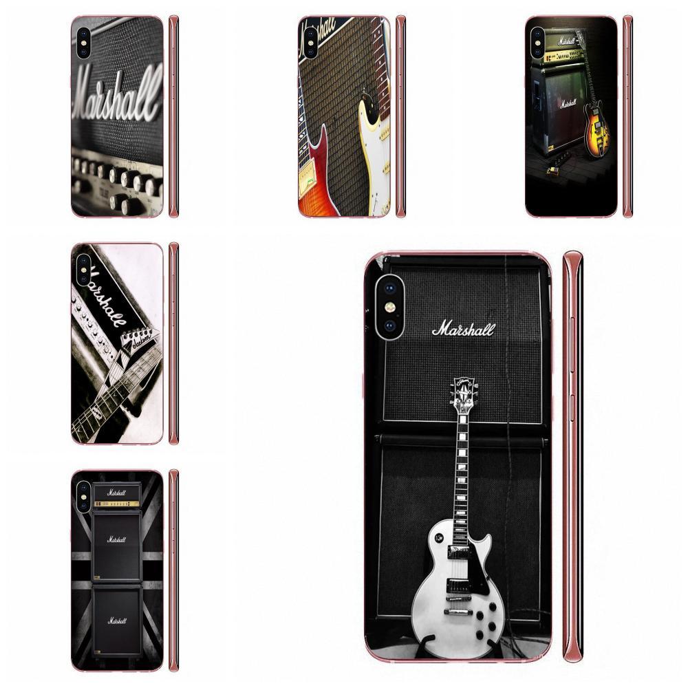 Marshall Amp guitarra Combo TPU al por mayor para Huawei Honor 5C 5X 6A 6X 7 7A 7X 8 8A 8S 8X 9 10 30 Lite Pro Y6 II Y7 Y9 primer 2019