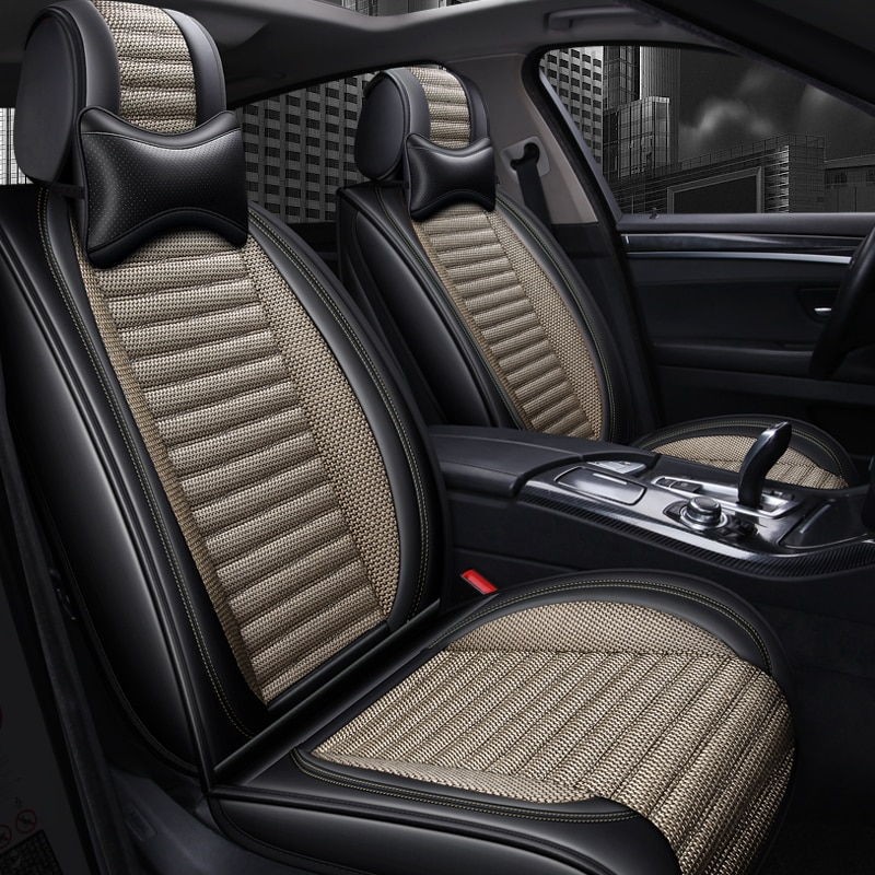 Cubierta de asiento de coche asientos de coche accesorios para audi a5 sportback b9 a6 c5 c6 c7 4f avant allroad A7 q3 Q5 Q7 s3 Sq5