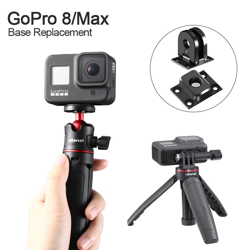 2021 New Portable compact base interface Replacement for Original Gopro 9 8 Max Universal Base 1/4 Screw Adapter Accessories