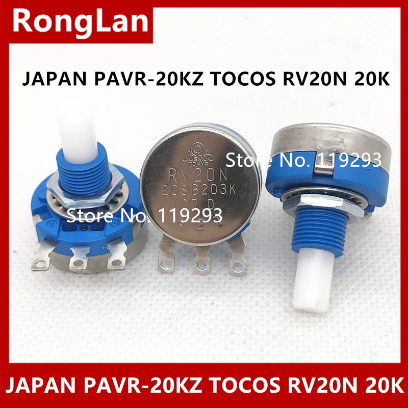 [BELLA] Japan Oriental drive potentiometer PAVR-20KZ  TOCOS RV20N 20S B203K 20K potentiometer imports--5pcs/lot