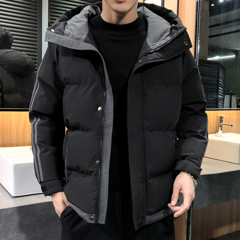 Men's winter jacket warm thick hooded coat jacket bomber jacket men's jacket jacket jacket jacket rodier jacket