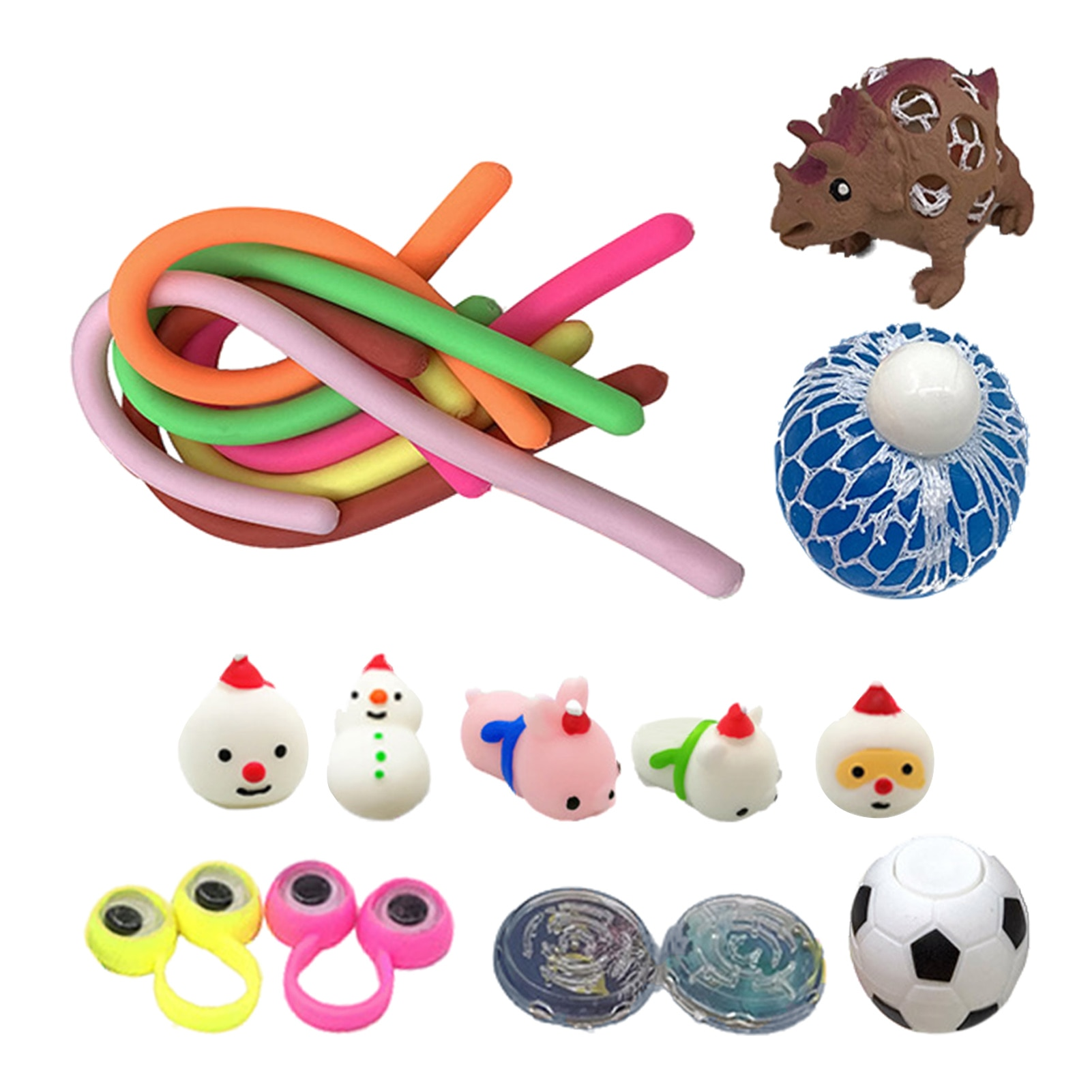 Sensory Fidget Toy Set Stress Relief Toys Bundle For Teens Adults Novel And Lovely Animal Design For Children Over 7 Years Old enlarge