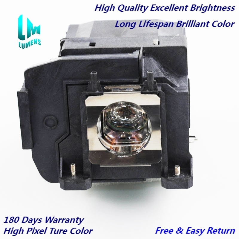 سطوع عالية ELPLP85 لإبسون EH-TW6600/EH-TW6600W/EH-TW6700/EH-TW6800/PowerLite HC3000/HC3100/HC3500/3600E/3700/3900