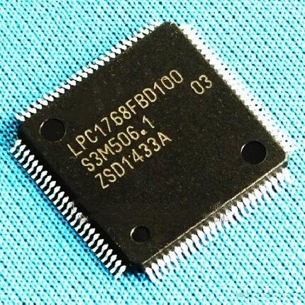 Original1pcs/lot LPC1768FBD100 LQFP100 LPC1768FBD QFP LPC1768 32-bit ARM Cortex-M3 microcontroller and IC LQFP100Wholesale