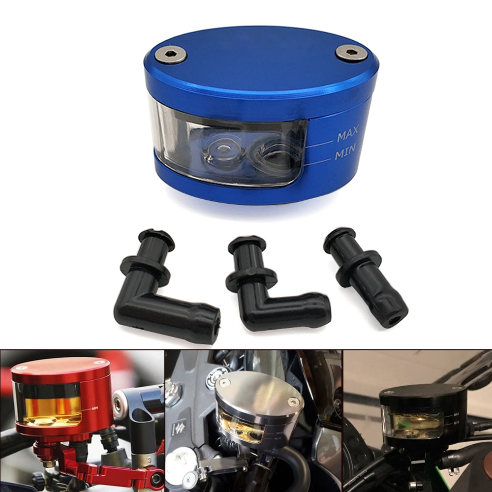 Universal Motorcycle Brake Clutch Tank Cylinder Fluid Oil Reservoir Cup For KTM 530 525 500 450 400 300 250 200 125 exc 450XC-W