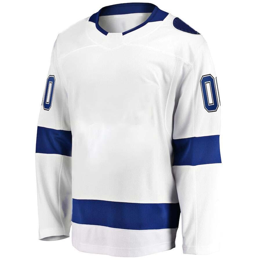 Американская хоккейная Майка, мужская хоккейная Майка Tampa Bay, хоккейная Майка KUCHEROV STAMKOS HEDMAN VASILEVSKIY McDONAGH POINT футболка для фанатов