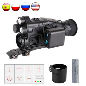 CY789 Night Vision Scope 1920p HD Night Vision Riflescope Monocular Telescope 940nm Infrared Hunting Night Vision Sight Cameras