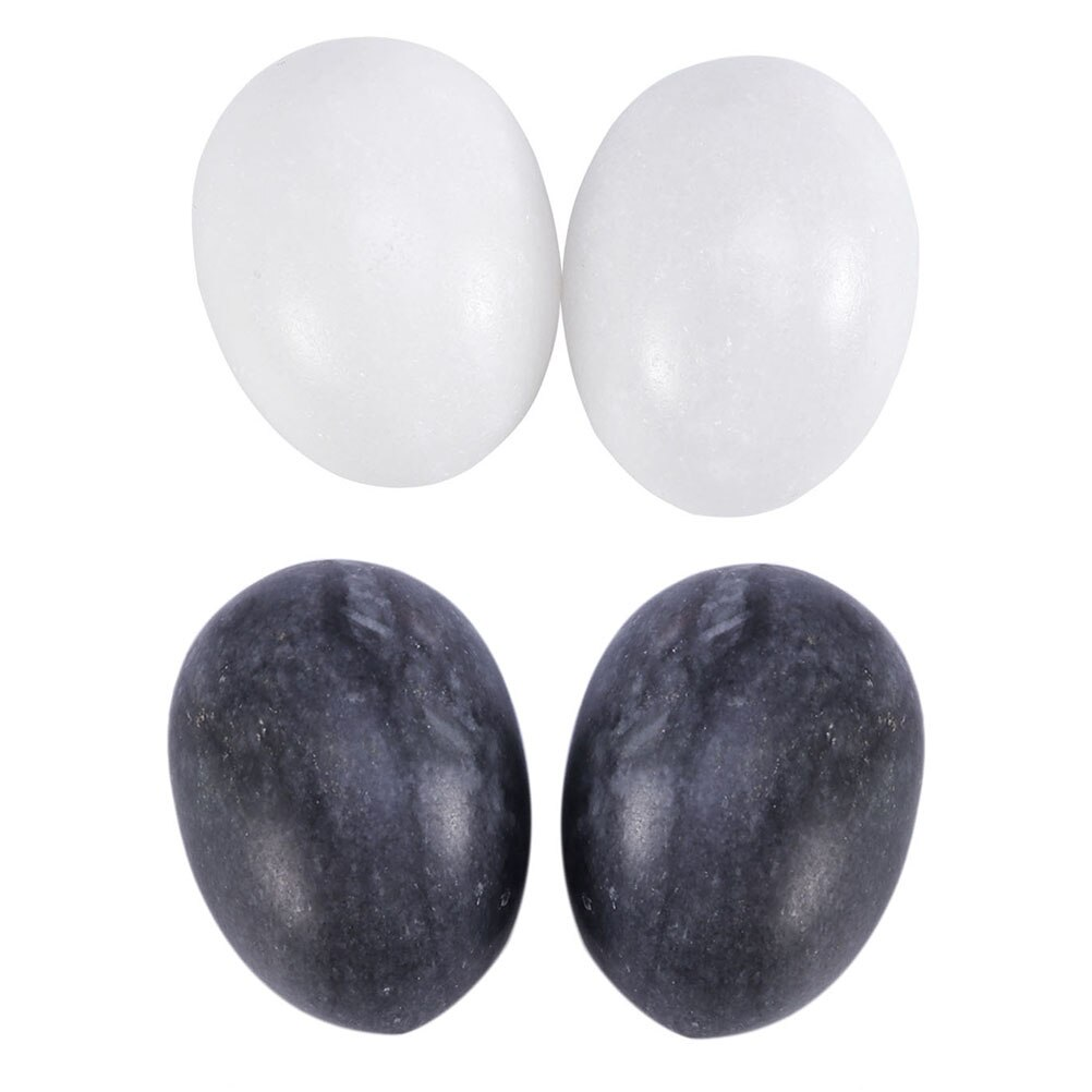 4pcs Yoni Eggs Safe Smooth Handy Jade Handballs Vaginal Jade Eggs Natural Jade Eggs for Women