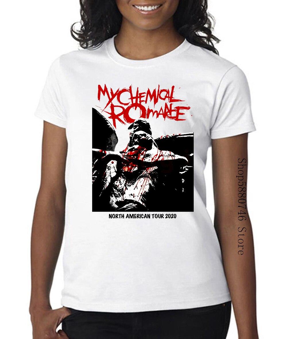 Mi Romance químico T camisa Mcr reunir América del Norte Tour 2020 música Emo camiseta