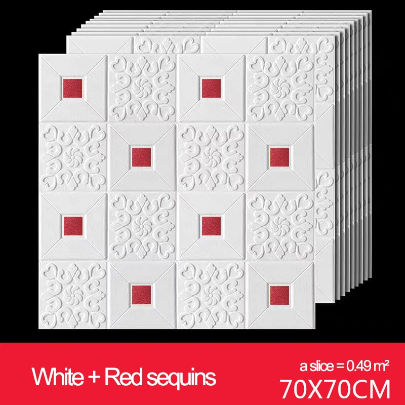 Pegatinas de pared 3d papel tapiz de ladrillo blanco papel tapiz de ladrillo y Palo-Papel de contacto o papel tapiz autoadhesivo de pared