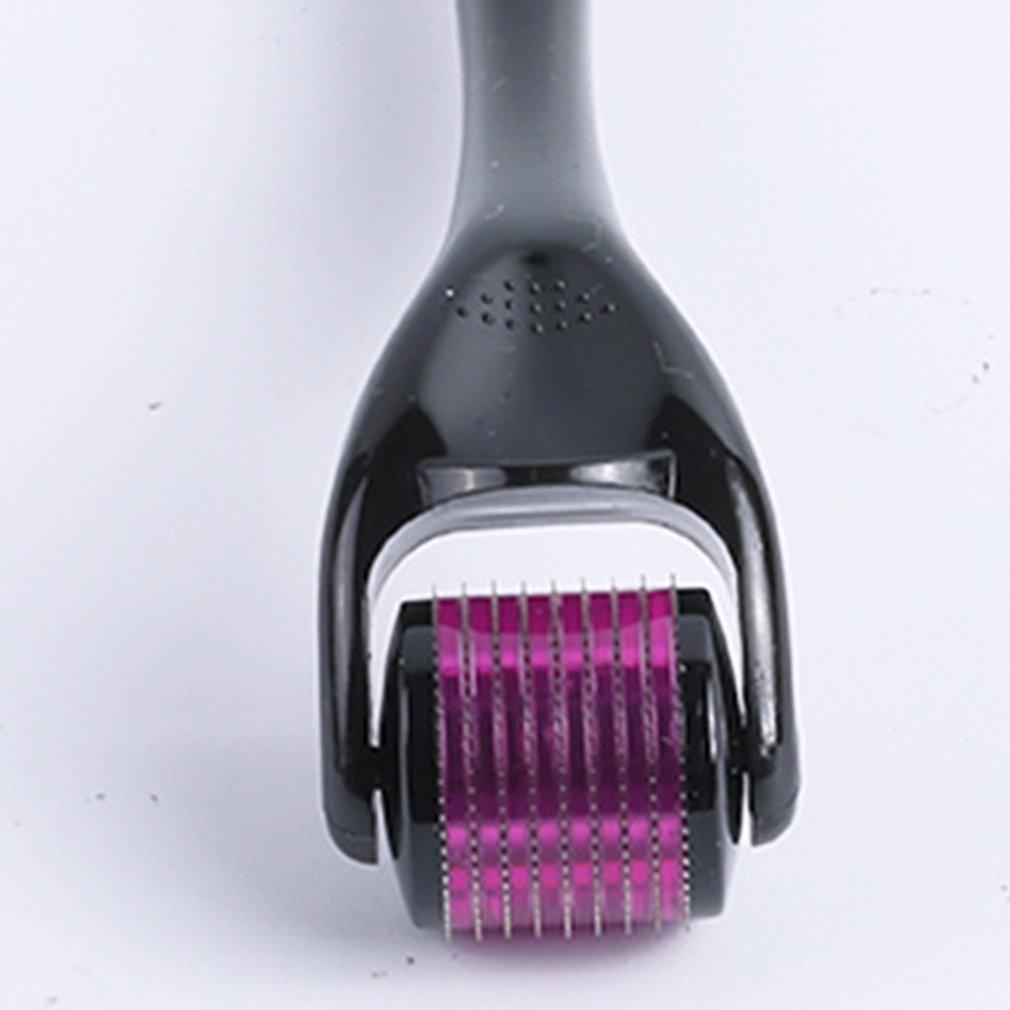 Skin Roller 540 Derma Micro Needle Roller Hair Regrowth Beard Growth Anti Hair Loss Treatment Thinning 0.2/0.25/0.3 Needles Tool
