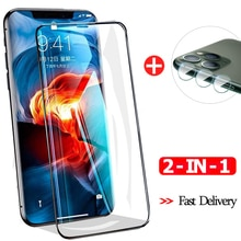 Fast delivery 9H Premium Tempered Glass For iphone 11 Camera lens aphone-11 Front Film i phone11 pro