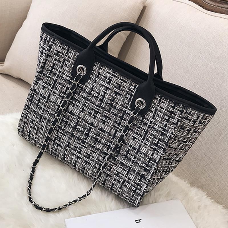 Bolso de mano de moda para mujer, bolso bandolera para compras, bolsos de mujer de gran capacidad, bolsos de mano informales, bolsos de viaje para mujer