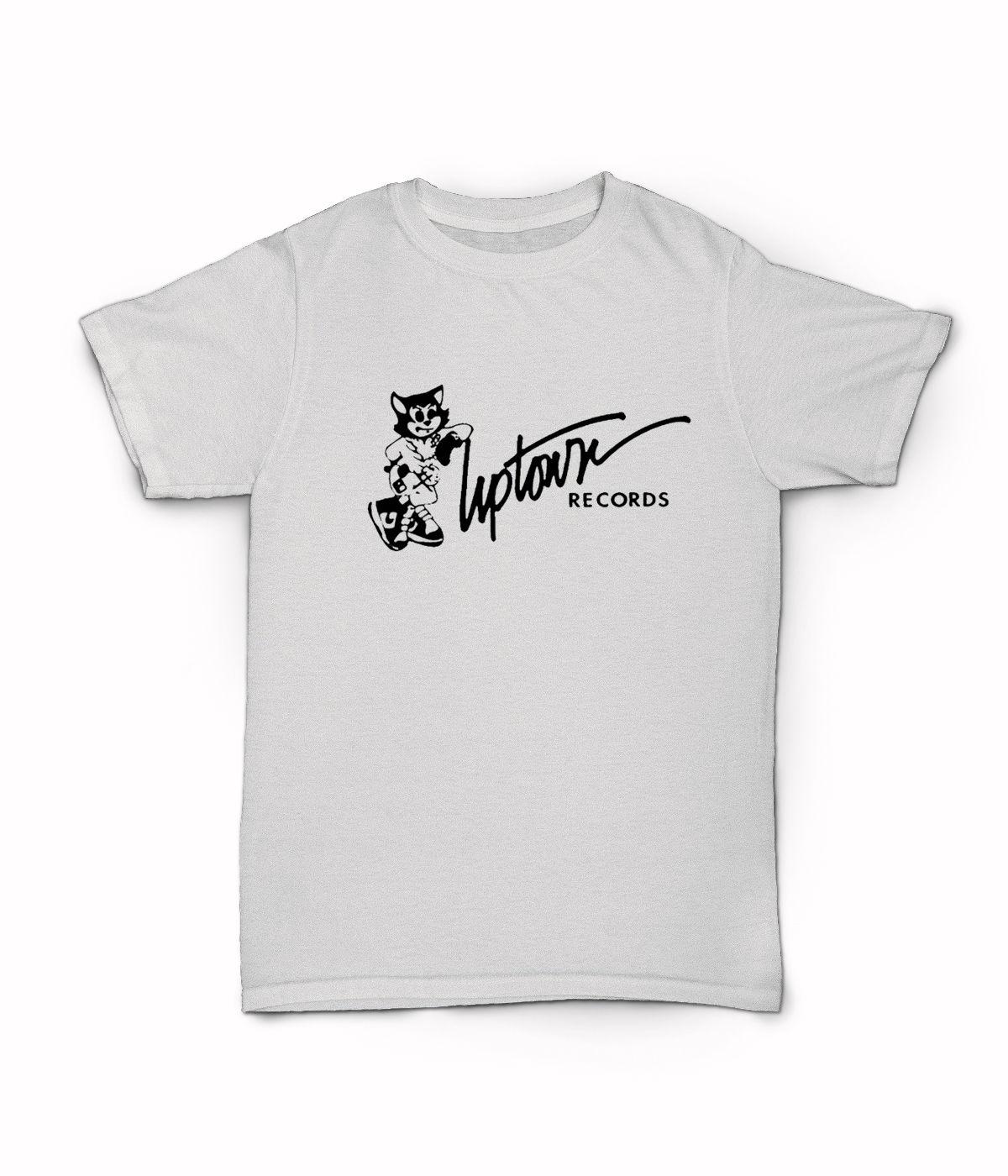 Koszulka z krótkim rękawem-ciężki D Puff tatuś Diddy Mary J Blige etykieta hip-hopowa NYC