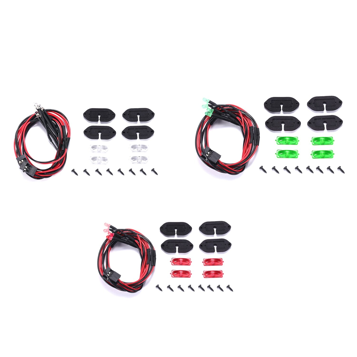 for RC Crawler AXIAL SCX10 III AXI03007 Wheel Eyebrow Atmosphere Light for RC Crawler AXIAL SCX10 III AXI03007 enlarge
