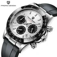 pagani design 2021 new top luxury fashion business men quartz watch automatic date waterproof chronograph japan vk63 clock male