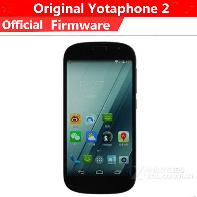 "Original Yotaphone 2 Yota 2 Dual Screen Mobile Phone Snapdragon 800 Android 4.4 5.0"" IPS 1920X1080 2GB RAM 32GB ROM 8.0MP"
