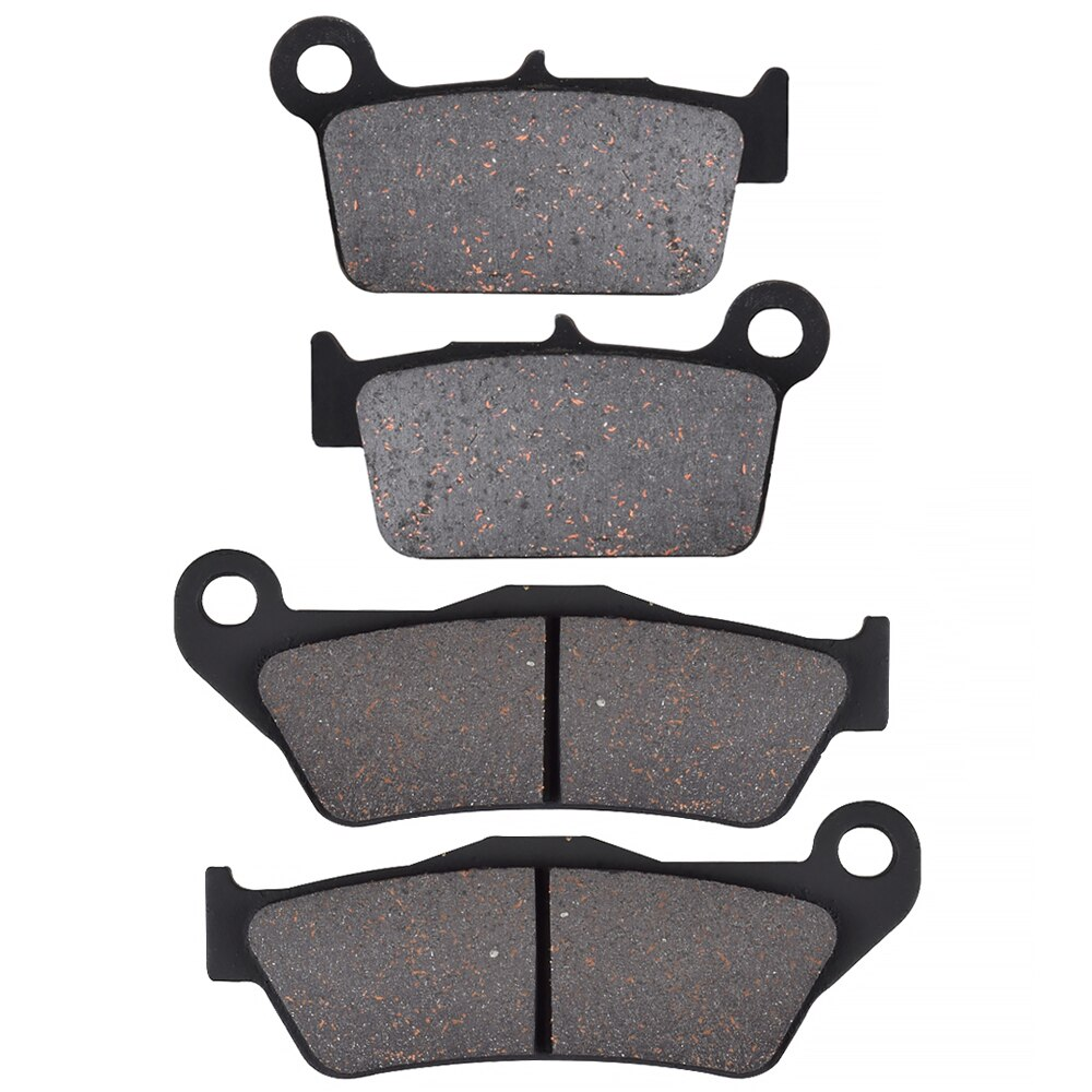 For SHERCO SEF 250 300 450 4T 2013 2014 2015 motorcycle Front Rear Brake Pads Brake Disks