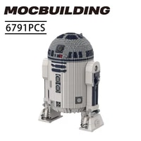 new star movie moc war ucs r2 d2 building blocks set large assembly robot ultimate collector series bricks toys kid gifts