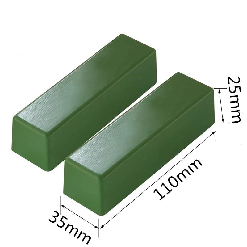 1pc 110x35x25mm composto verde pasta lucidante pasta abrasiva metalli - Abrasivi - Fotografia 2
