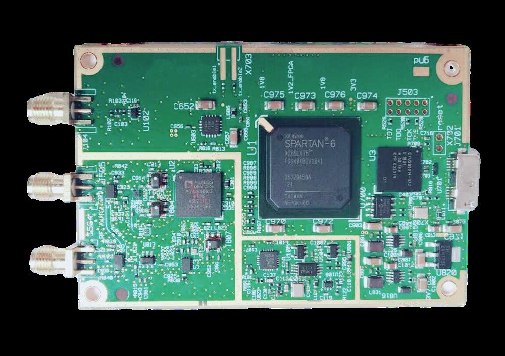 راديو محدد بالبرمجيات AD9361 RF 70MHz -6GHz SDR ، usb 3.0 ، متوافق مع ETTUS ، USRP ، B210 ، SDR كامل ، T0035