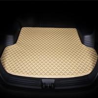 custom Car trunk mat for BYD all models F0 F3 Surui SIRUI F6 G3 G5 G6 S6 M6 L3 S7 E6 E5 car styling auto accessories