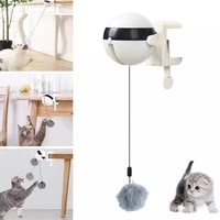 cats games electric automatic lifting interactive cat ball toy kitten accessories puzzle smart teaser toys pet supply lifting