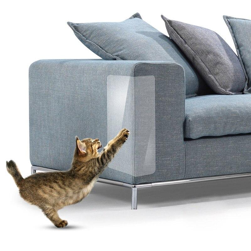 2 шт./лот коврик для защиты от царапин на диване кошки скребок Когтеточка для кошек мебель для домашних животных